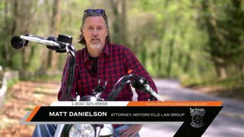 Tom McGrath's Motorcycle Law Group TV Spot, 'Motorcycle Safety' - Thumbnail 1