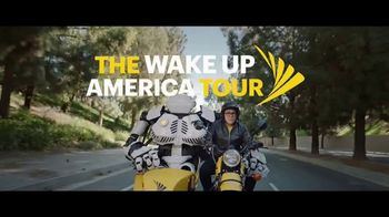 Sprint TV Spot, 'The Wake Up America Tour: Buffering' - Thumbnail 1