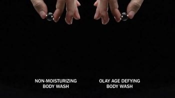 Olay Age Defying With Vitamin E Body Wash TV Spot, 'From Tired to Firm' - Thumbnail 5