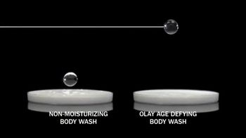 Olay Age Defying With Vitamin E Body Wash TV Spot, 'From Tired to Firm' - Thumbnail 7