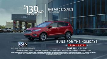 Ford Built for the Holidays TV Spot, 'A/Z Plan Lessees: Final Days' [T2] - Thumbnail 2