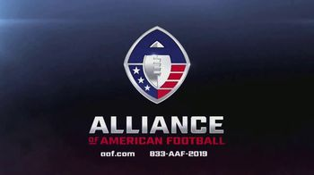 Alliance of American Football TV Spot, 'Football Doesn't Have to End' - Thumbnail 6