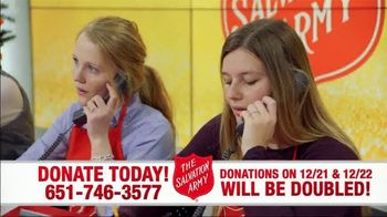 The Salvation Army TV Spot, 'Donations Doubled' - Thumbnail 1