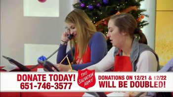 The Salvation Army TV Spot, 'Donations Doubled' - Thumbnail 10