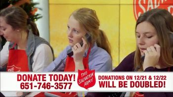 The Salvation Army TV Spot, 'Donations Doubled' - Thumbnail 3