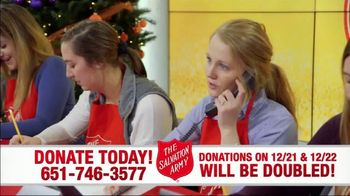 The Salvation Army TV Spot, 'Donations Doubled' - Thumbnail 5