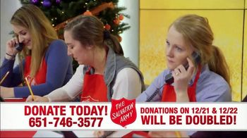 The Salvation Army TV Spot, 'Donations Doubled' - Thumbnail 6