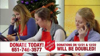 The Salvation Army TV Spot, 'Donations Doubled' - Thumbnail 7