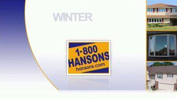 1-800-HANSONS Winter Fix Up Sale TV Spot, 'Save on Installation' - Thumbnail 1