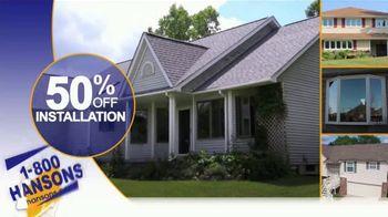 1-800-HANSONS Winter Fix Up Sale TV Spot, 'Save on Installation' - Thumbnail 3