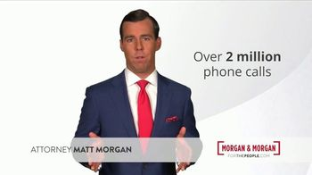 Morgan and Morgan Law Firm TV Spot, 'In 2018: 2 Million People' - Thumbnail 2