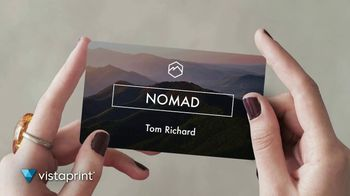 Vistaprint TV Spot, 'Own the Now: Artfully Designed' Song by Norman