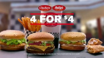 Checkers & Rally's 4 for $4 TV Spot, 'Nobody Can Beat That' - Thumbnail 2