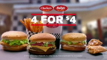 Checkers & Rally\'s 4 for $4 TV Spot, \'Nobody Can Beat That\'