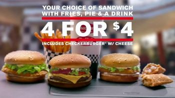 Checkers & Rally's 4 for $4 TV Spot, 'Nobody Can Beat That' - Thumbnail 8