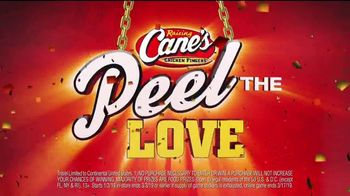 Raising Cane's Peel the Love TV Spot, 'Not a Game'