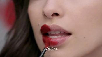 L'Oreal Paris Rouge Signature Matte Colored Ink TV Spot, 'Less and More' - Thumbnail 3