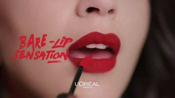 L'Oreal Paris Rouge Signature Matte Colored Ink TV Spot, 'Less and More' - Thumbnail 7