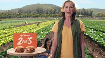Hardee's Original Roast Beef Sandwiches TV Spot, 'Save the Vegetables' - Thumbnail 6
