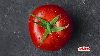 Papa John's TV Spot, 'Can a Tomato Make You Happy?' - Thumbnail 3