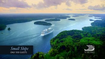 Viking Cruises TV Spot, 'Small Ships'