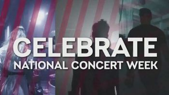Live Nation National Concert Week TV Spot, '$20 Concert Tickets'