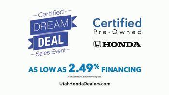 Honda Certified Dream Deal Sales Event TV Spot, 'Selfies' [T2] - Thumbnail 8