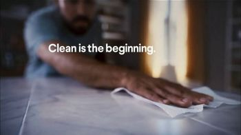 Clorox Disinfecting Wipes TV Spot, 'Clean Is the Beginning' - Thumbnail 2