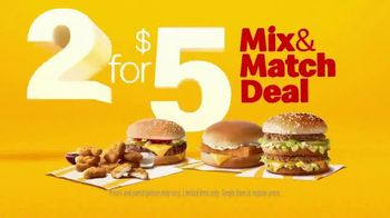 McDonald's 2 for $5 Mix & Match Deal TV Spot, 'Choose From Your Favorites' - Thumbnail 9