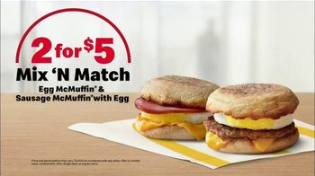 McDonald's 2 for $5 Mix 'N Match TV Spot, 'Step up Your Morning Game' - Thumbnail 8