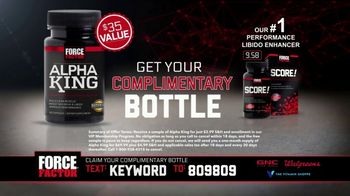 Force Factor Alpha King TV Spot, 'AlphaKing Mediocrity Everywhere' - Thumbnail 7