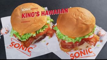 Sonic Drive-In King's Hawaiian Clubs TV Spot, 'Aloha' [Spanish] - Thumbnail 1