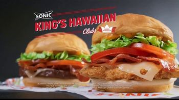 Sonic Drive-In King's Hawaiian Clubs TV Spot, 'Aloha' [Spanish] - Thumbnail 6