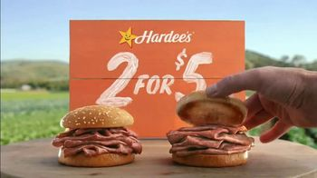 Hardee's Original Roast Beef Sandwiches TV Spot, 'Save a Vegetable Today' - Thumbnail 7