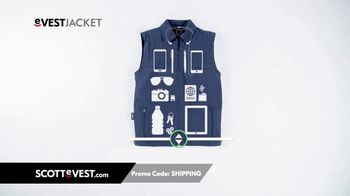 SCOTTeVEST TV Spot, 'It's Not Rocket Science. It's Pocket Science' - Thumbnail 3