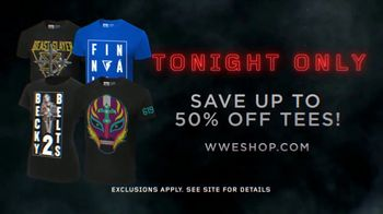 WWE Shop TV Spot, 'Inspired by Millions: 50 Percent Off Tees' - Thumbnail 9