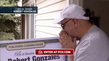 Publishers Clearing House TV Spot, 'Actual Winner: Robert Gonzales' - 130 commercial airings