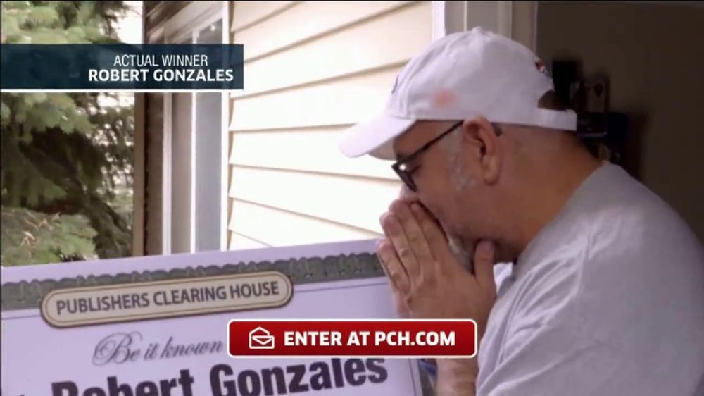 Publishers Clearing House TV Commercial, 'Actual Winner: Robert Gonzales'