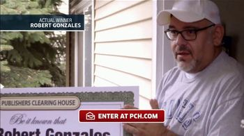 Publishers Clearing House TV Spot, 'Actual Winner: Robert Gonzales' - Thumbnail 4