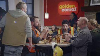 Golden Corral Endless Ribs TV Spot, 'Barra de ensaladas' [Spanish] - Thumbnail 1