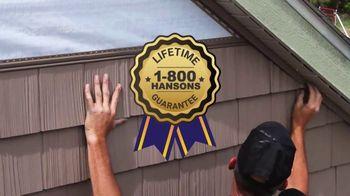 1-800-HANSONS TV Spot, 'That Stops Today: $99 Siding' - Thumbnail 5