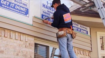1-800-HANSONS TV Spot, 'That Stops Today: $99 Siding'