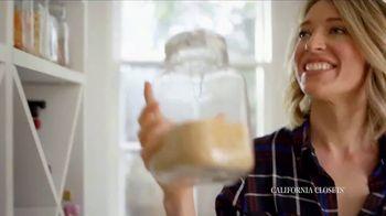 California Closets TV Spot, 'Erin's Pantry Story' - Thumbnail 2
