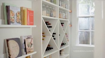 California Closets TV Spot, 'Erin's Pantry Story' - Thumbnail 4