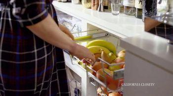 California Closets TV Spot, 'Erin's Pantry Story' - Thumbnail 5