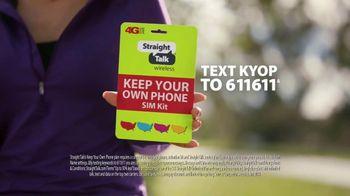 Straight Talk Wireless Bring Your Own Phone SIM Kit TV Spot, 'Special Talk: 50 Percent' - Thumbnail 5