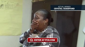 Publishers Clearing House TV Spot, 'Actual Winner: Crystal Crawford' - Thumbnail 3