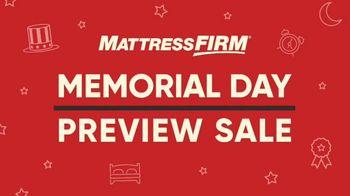 Mattress Firm Memorial Day Preview Sale TV Spot, 'Beautyrest Mattress Upgrades' - Thumbnail 1