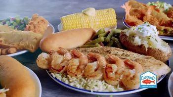 Captain D's Ultimate Shrimp Feast TV Spot, 'Shrimp-ly Amazing'