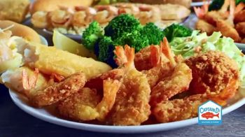 Captain D's Ultimate Shrimp Feast TV Spot, 'Shrimp-ly Amazing' - Thumbnail 5